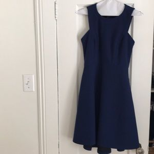 EUC Banana republic navy dress size 0